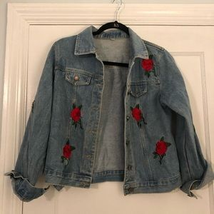 Embroidered Jean Jacket